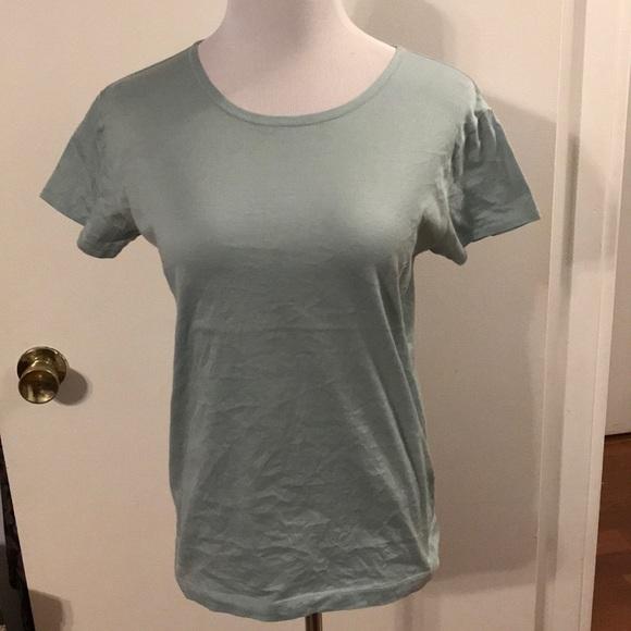 Ralph Lauren Blue Label Tops - Ralph Lauren light green tee shirt